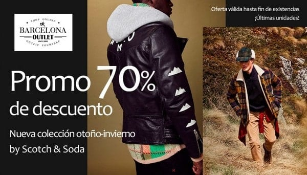 Scotch & Soda - Barcelona Outlet - NOB 318 - Noviembre 2018