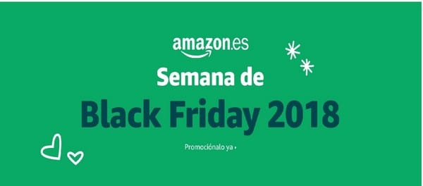 Semana Black Friday Amazon 2018