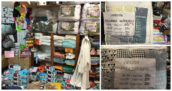 Textil hogar - Outlet Sepulveda 28 - NOB 319 - Diciembre 2018
