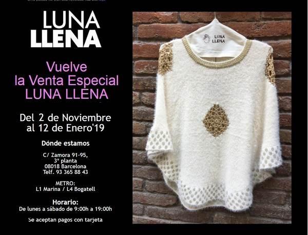 Venta especial Luna Llena Barcelona - NOB 317 - Noviembre 2018