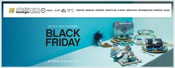 Viladecans The Style Outlets - Especial Black Friday 2018 Outlet Barcelona