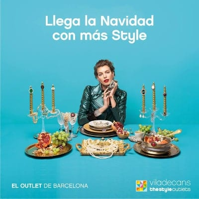 Actividades Navidad 2018 en Viladecans The Style Outlets - Diciembre 2018 - NOB 320