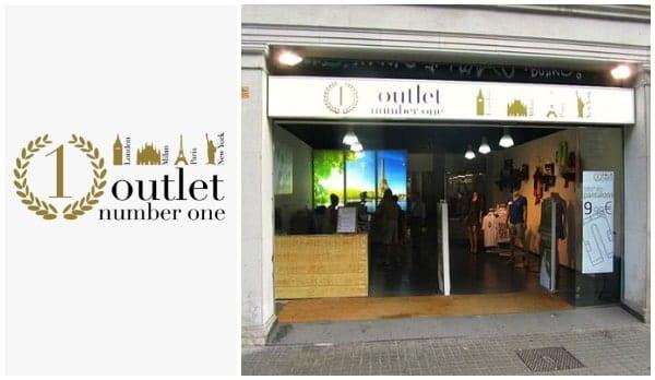 Outlet Number One c Aragó Barcelona - NOB 321 - Enero 2019