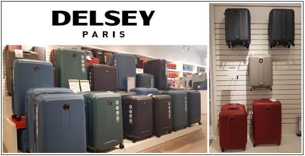 Outlet maletas Delsey - Viladecans The Style Outlets - NOB 230 - Diciembre 2018