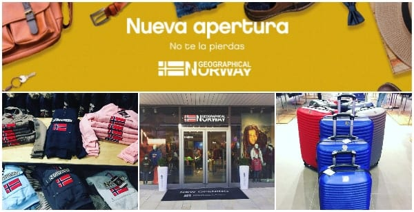 Geographical Norway Outlet en Viladecans The Style Outlets - NOB 322 - Enero 2019