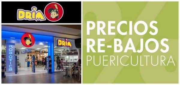 Precios Re-Bajos en Puericultura en Drim - Outlet juguetes - NOB 322 - Enero 2019