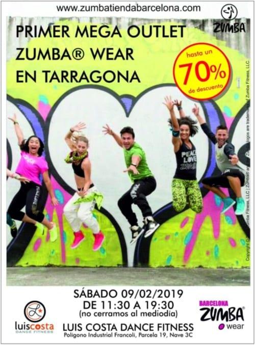 Outlet Zumba Tienda Barcelona en Tarragona - NOB 323 - Febrero 2019