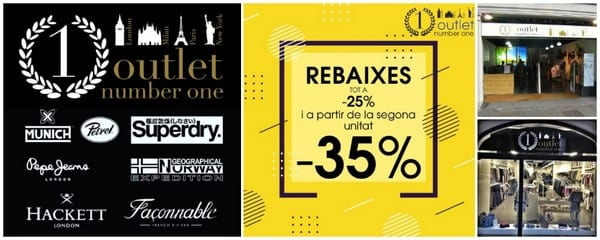 Rebajas en Outlet Number One - NOB 323 - Febrero 2019
