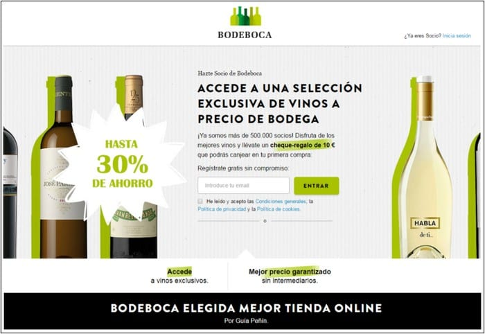 Bodeboca - Ventas privadas outlet vino destilados - Noticias Outlet en Barcelona 325 - Marzo 2019