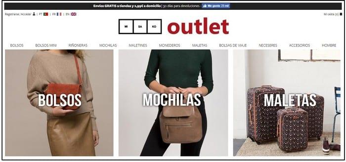 Outlet Misako Online - Noticias Outlet en Barcelona 325 - Marzo 2019