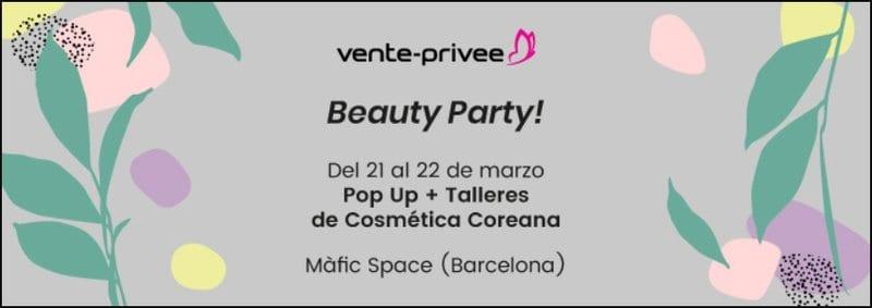 PopUp outlet Cosmética Coreana de Ventee Prive en Barcelona - NOB 326 - Marzo 2019