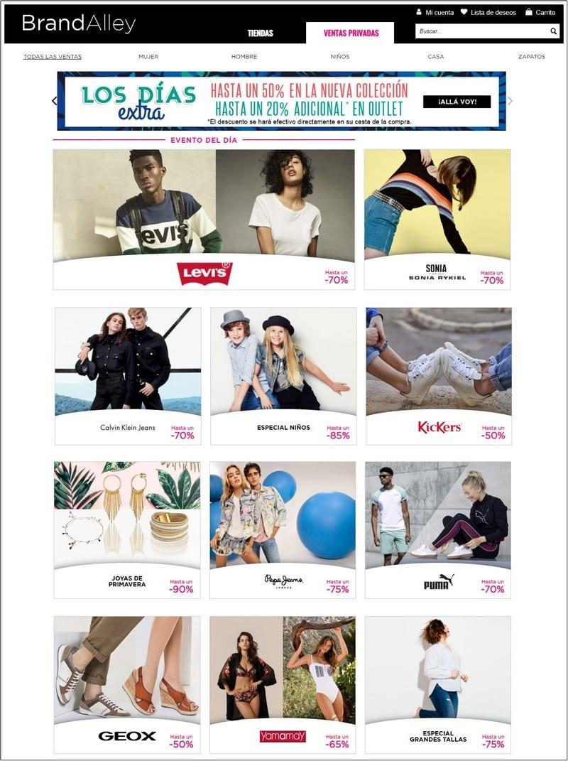 Brand Alley Tiendas y ventas privadas online - NOB 327 - Abril 2019