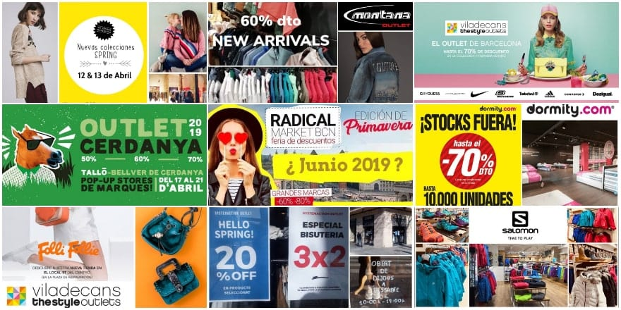 DE CO - Noticias Outlet en Barcelona 327 - Abril 2019