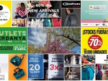 DE PE - Noticias Outlet en Barcelona 327 - Abril 2019