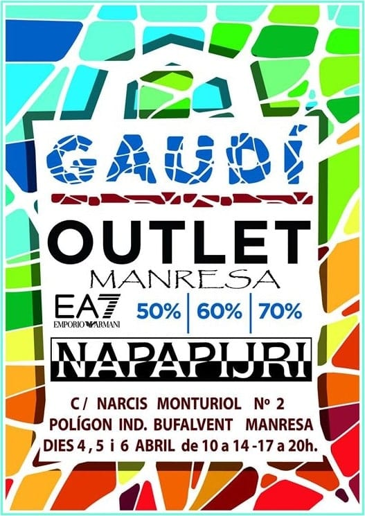 Gaudí Outlet Manresa - NOB 327 - Abril 2019