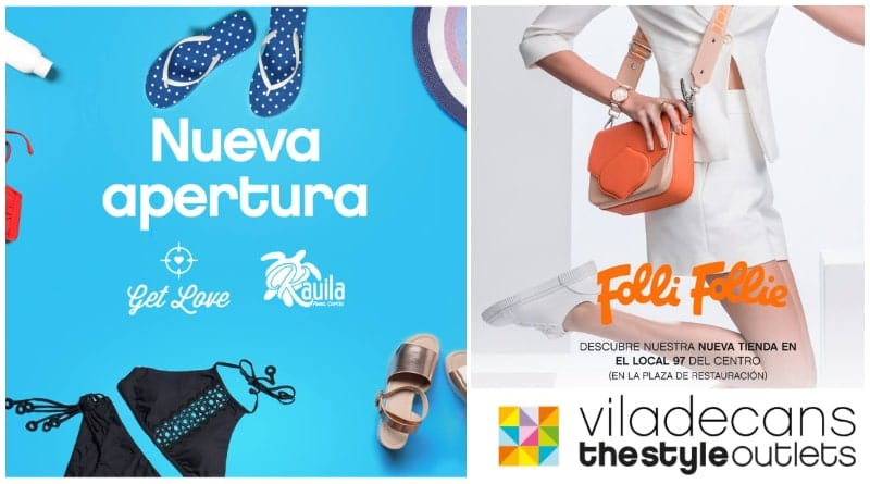 Get Love y Folli Follie Outlet en Viladecans The Style Outlets - NOB 328 - Abril 2019