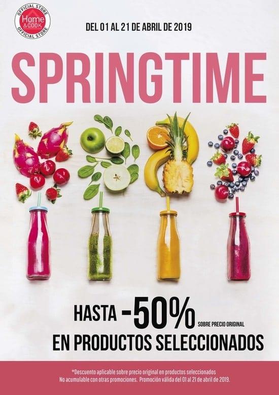 Home Cook outlet electrodomésticos - Promocion Springtime - NOB 327 - Abril 2019