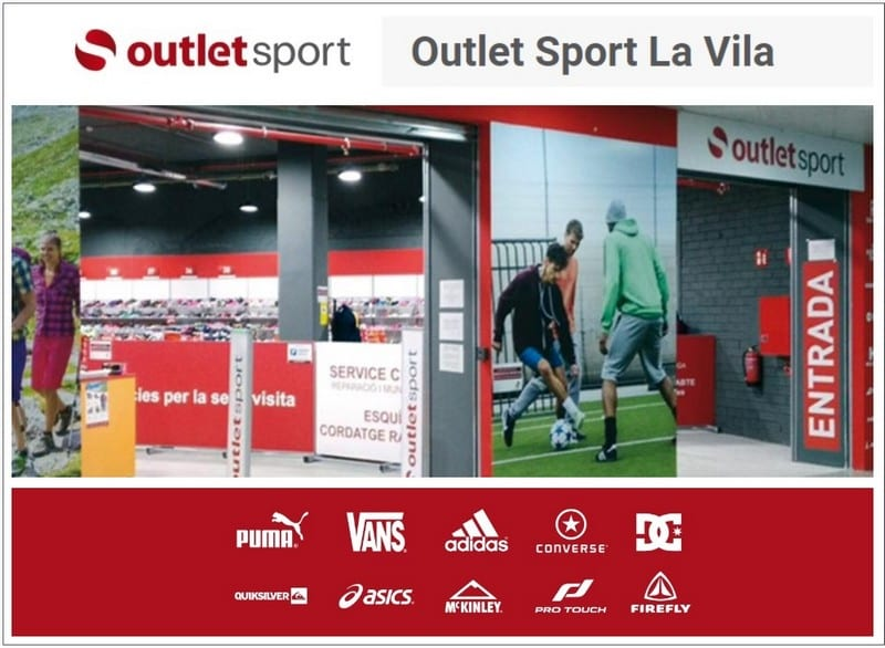 Outlet Sport La Vila Barcelona - NOB 328 - Abril 2019