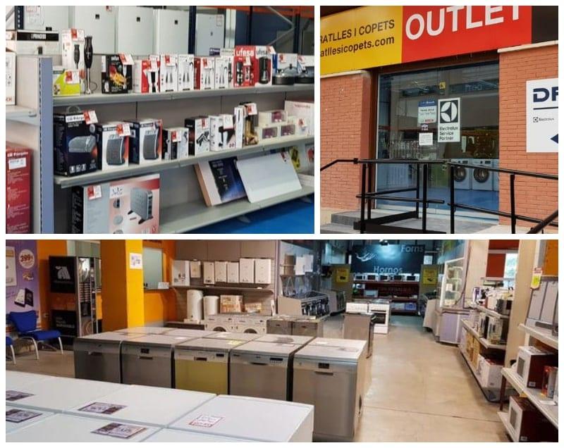 Ratlles i Copets Outlet Esplugues - Interior y fachada tienda - NOB 327 - Abril 2019