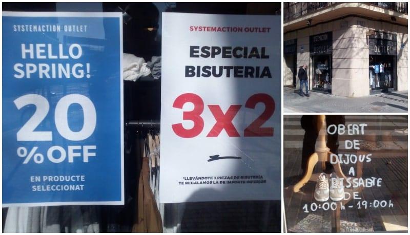 System Action Outlet Barcelona - NOB 327 - Abril 2019