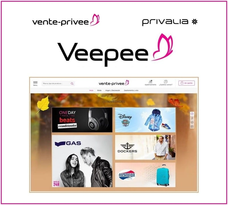 VeePee Vente Privee Privalia - Noticias Outlet en Barcelona 328 - Abril 2019