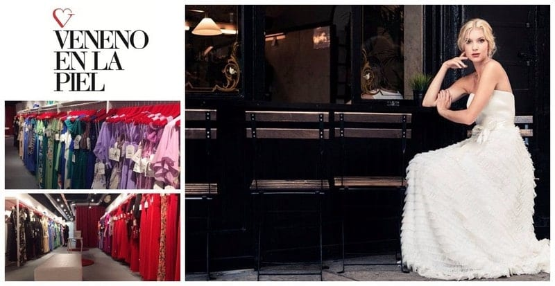 Vestidos de novia boda y fiesta - Veneno en la Piel outlet Barcelona - NOB 329 - Mayo 2019