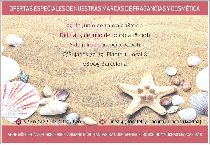 Angelini Beauty - Venta Primavera Verano Outlet Perfumeria Barcelona - NOB 332 - Junio Julio 2019