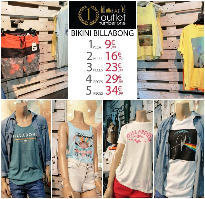 Billabong en Outlet Number One - NOB 331 - Junio 2019