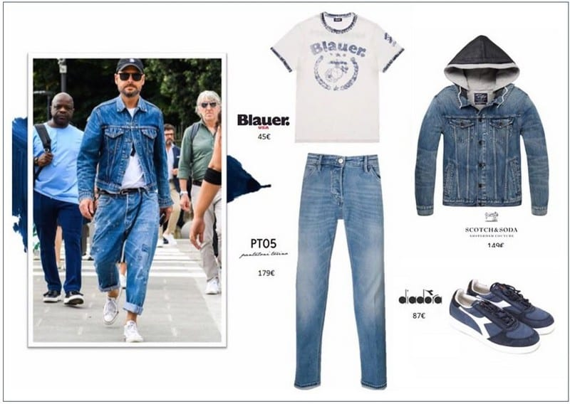 Denim look hombre en Barcelona Outlet - NOB 331 - Junio 2019