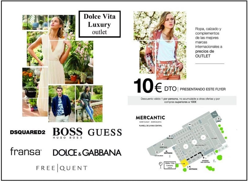 Dolce Vita Luxury Outlet en Mercantic Sant Cugat del Vallès - NOB 331 - Junio 2019