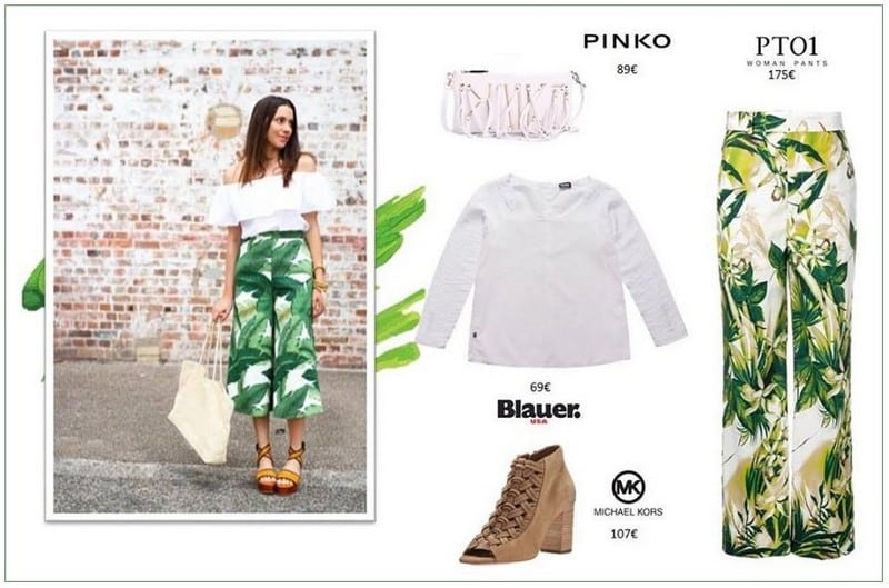 Green Power total look en Barcelona Outlet - NOB 332 - Junio 2019