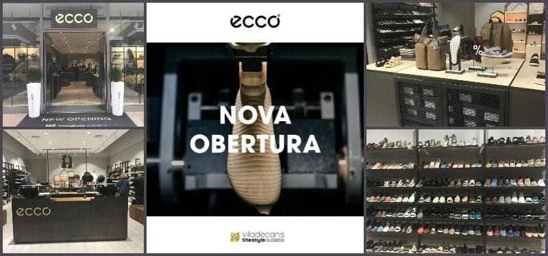 Outlet ECCO en Viladecans The Style Outlets - NOB 331 - Junio 2019