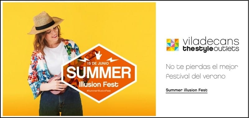 Summer Illusion Fest - Viladecans The Style Outlets - NOB 331 - Junio 2019