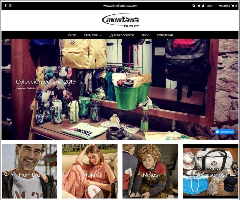 Tienda online Montana Outlet Barcelona - NOB 332 - Junio 2019