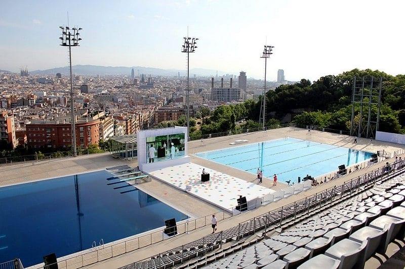 Piscinas Bernat Picornell Barcelona - - Especial Ocio Julio Agosto Verano 2019 - outletbarcelona