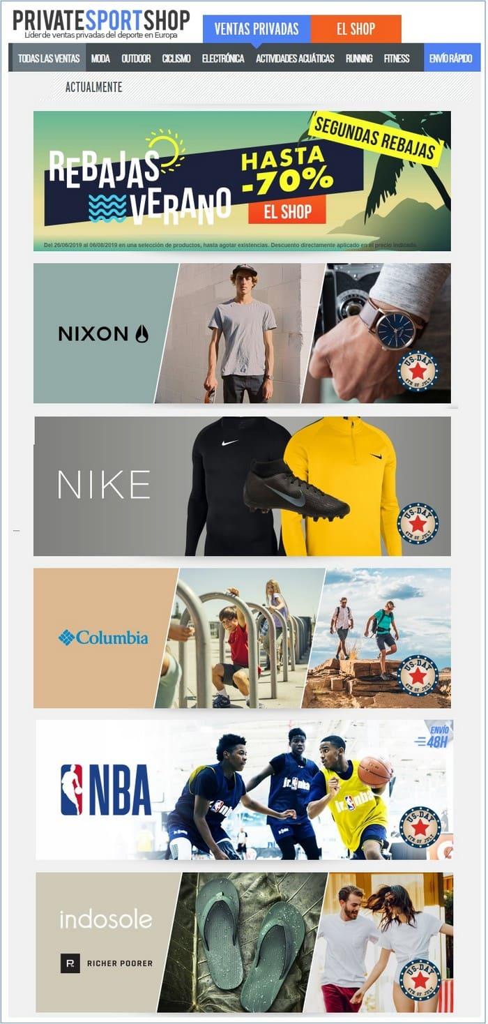 Private Sport Shop tienda online deporte - NOB 333 - Julio 2019