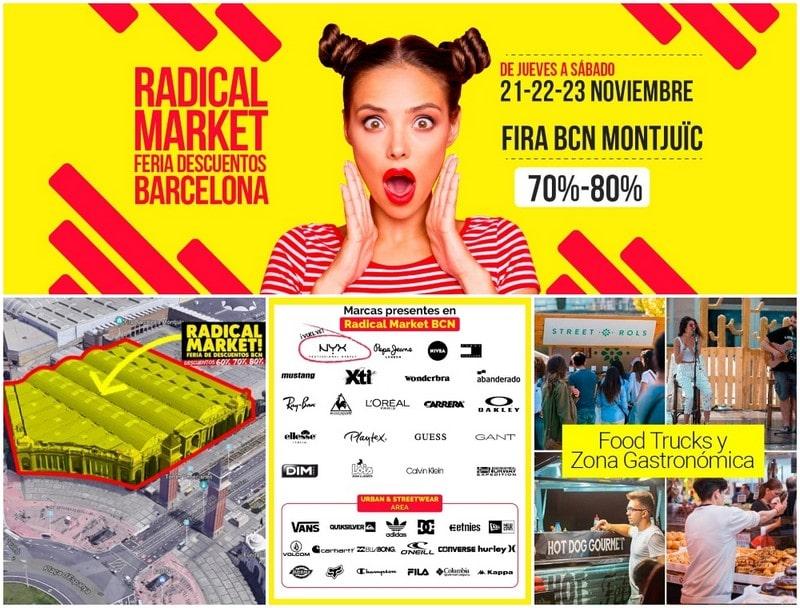 Radical Market Feria Descuentos Barcelona - Noviembre 2019
