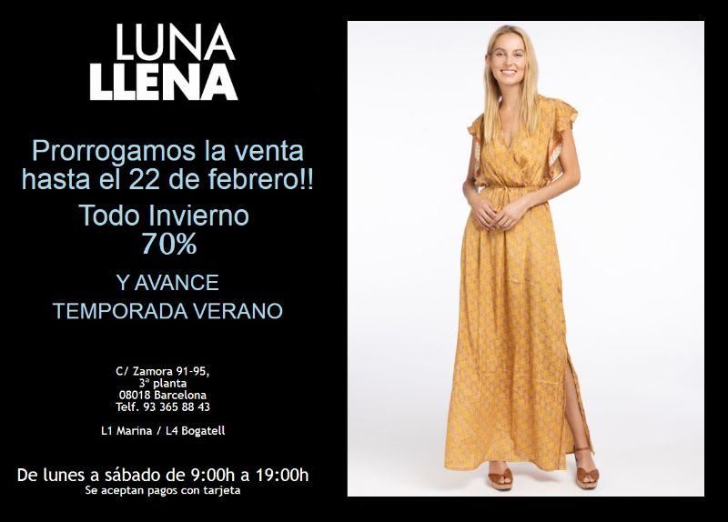 Venta especial Luna Llena - NOB Febrero 2020