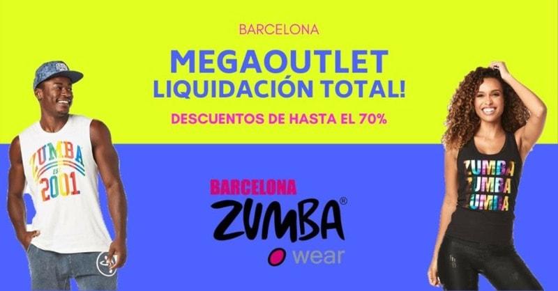 Venta MegaOutlet Liquicion total Zumba Wear Barcelona - NOB 337 - Marzo 2020