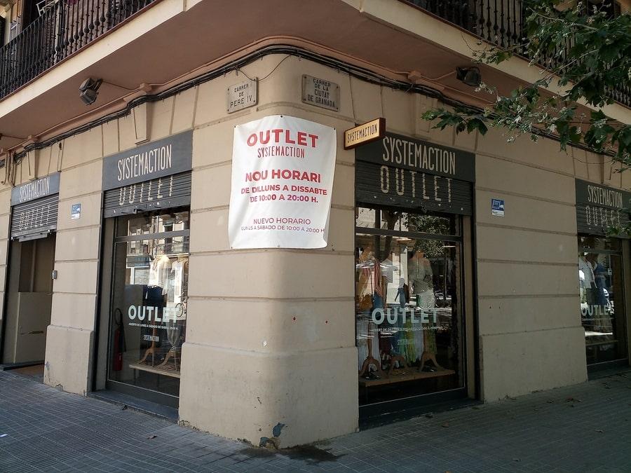 System Action Outlet Poblenou Barcelona 2 - Noticias Outlet Julio 2021